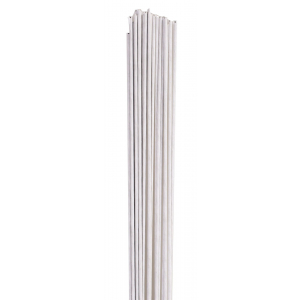 Culpitt Floral Wires #24 Gauge - White (Pack of 50)