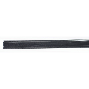 Culpitt Floral Wires #24 Gauge - Metallic Black (Pack of 50)