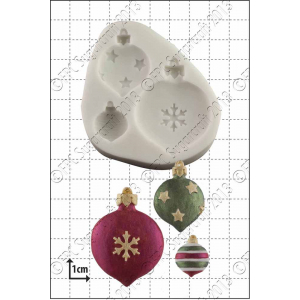FPC Mould - Christmas Baubles