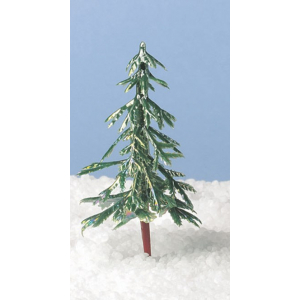 Culpitt Decoration - Christmas Tree - Green Iridescent