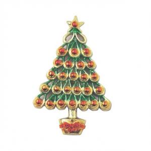Culpitt Decoration / Motto - Half Relief Christmas Tree (Pack of 50)