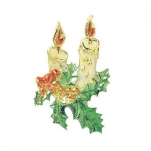Culpitt Decoration / Motto - Half Relief Christmas Candles