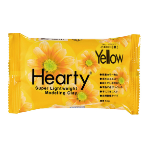 Artista Soft Hearty Modelling Paste / Clay - Yellow (50g)